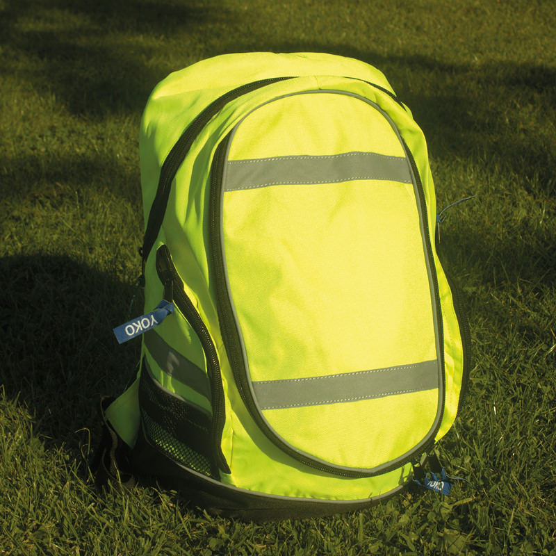 High Visibility Waterproof Rucksack Yk150 Harlequin