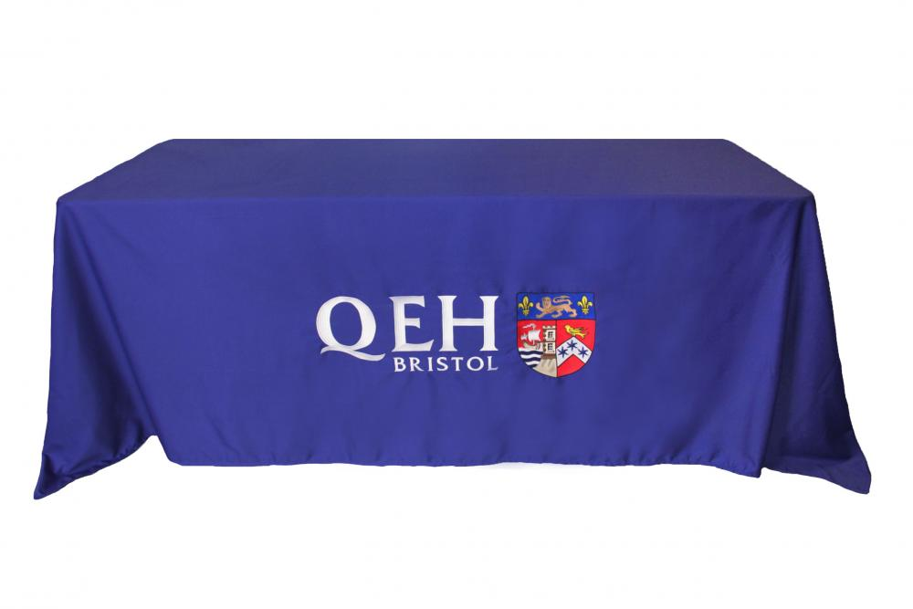 Embroidered Tablecloths With Company Logos Harlequin Designs