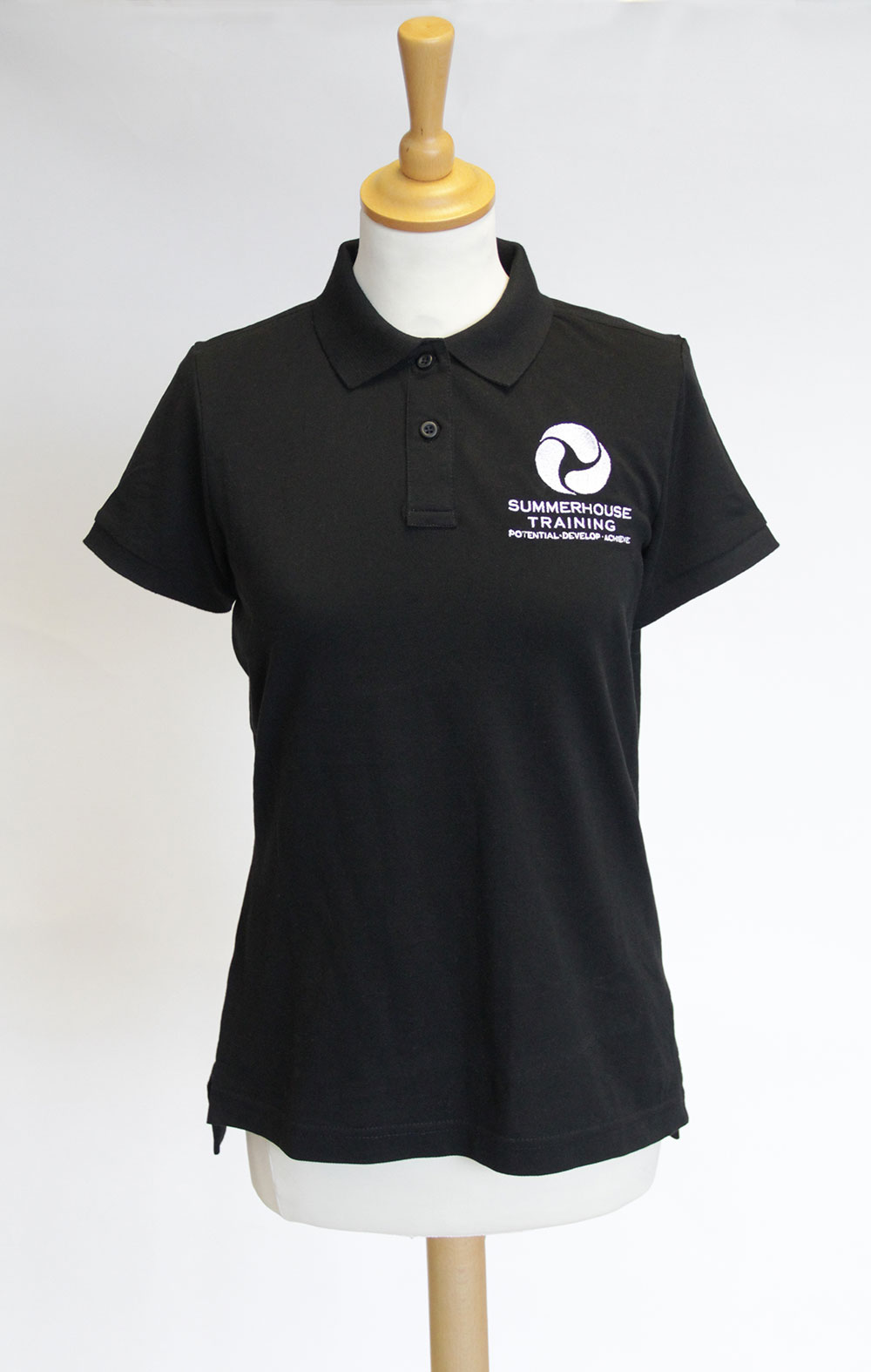poloshirts with logos uk