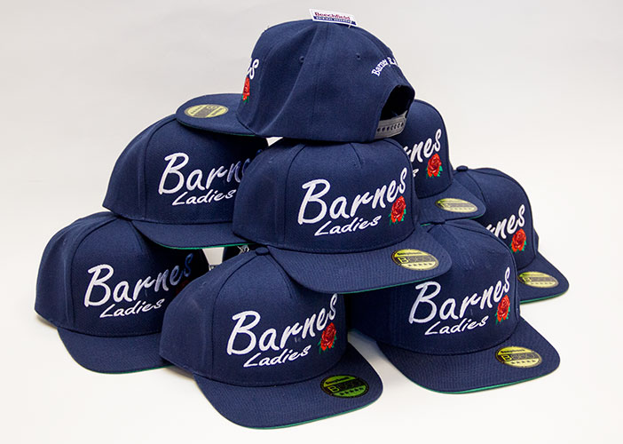 embroidered caps uk