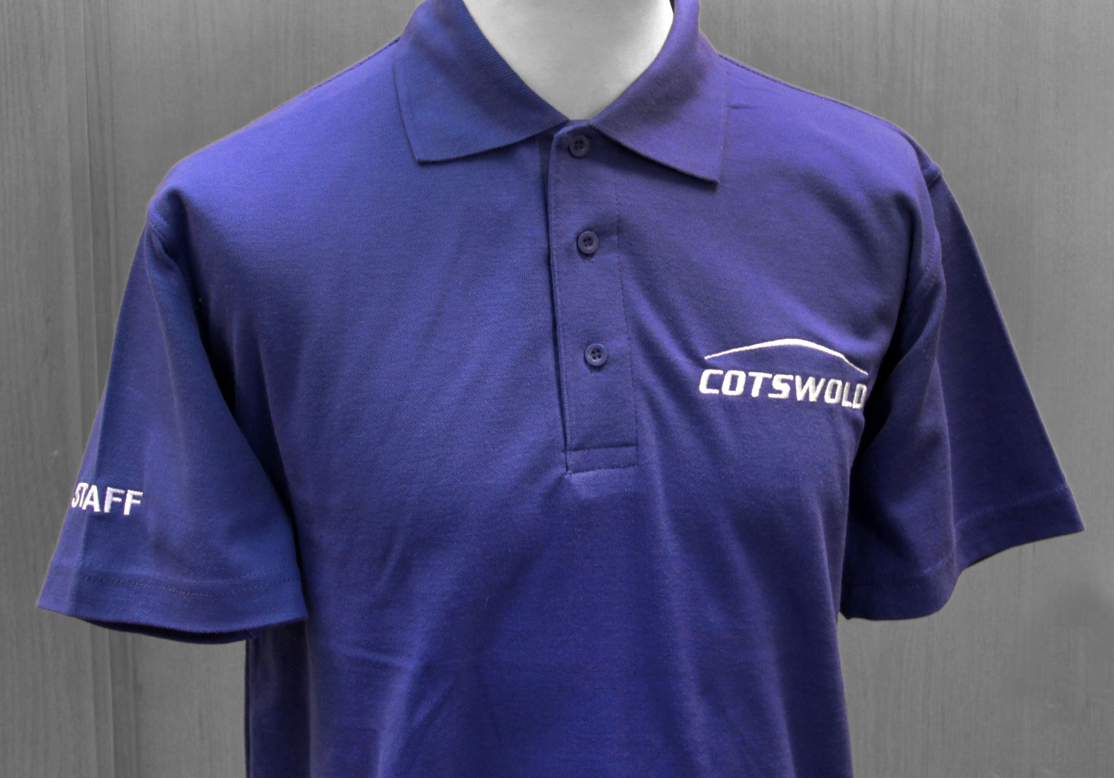 Custom Embroidered Poloshirts with Company Logos