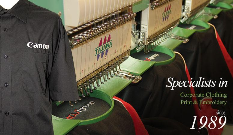 Corporate Clothing Print & Embroidery