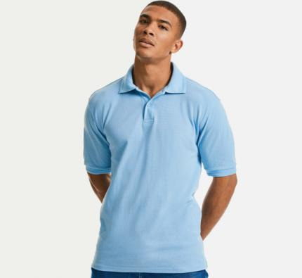 Russell Hard Wearing 60C Wash Polo (J599M)