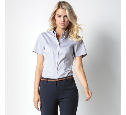 Kustom Kit Short Sleeve Corporate Oxford Blouse (KK701)