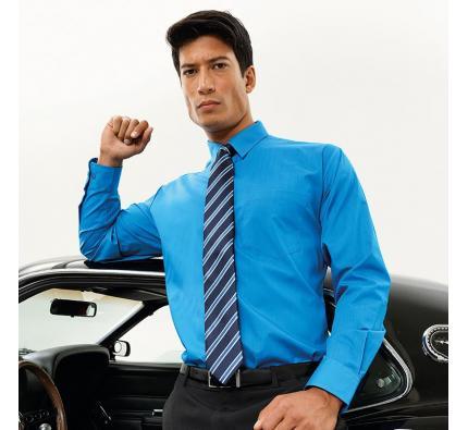Premier Long Sleeve Poplin Shirt (PR200)