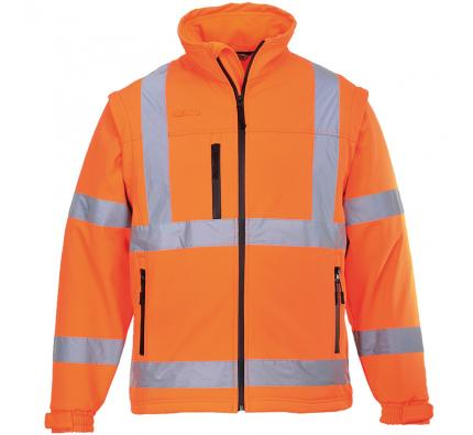 Portwest Hi Vis Softshell Jacket (PW092)