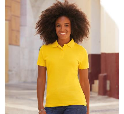 Fruit of the Loom Ladies 65/35 Polo Shirt (SS212)