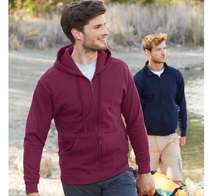 Fruit of the Loom Classic Hooded Sweatshirt Jacket (SS222)