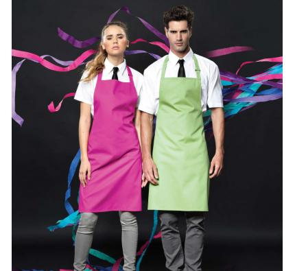 Bib Apron Poly/Cotton (PR150)