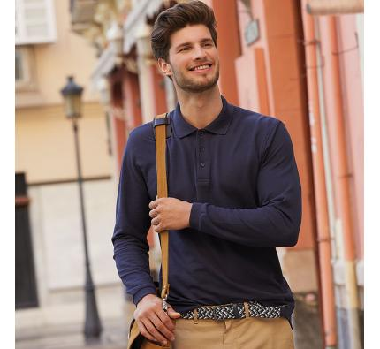 Fruit of the Loom Premium Long Sleeve Polo Shirt (SS258)