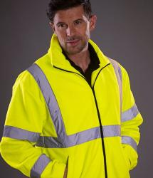 Hi vis heavyweight fleece jacket (YK042)
