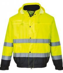 Hi-vis bomber jacket (PW001)