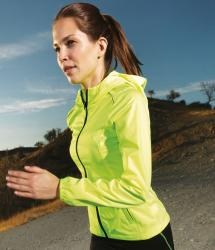 Hi Viz Running Softshell with ultra light TriDri® layer (TR080 / TR070)