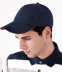 Beechfield Ultimate 5 Panel Sandwich Peak Cap (BC15C)