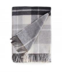 Touch of Cashmere Blanket - Black, Grey and White