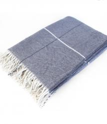 Cotton Blanket - Slate Blue