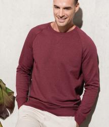 Kariban Organic Cotton Crew Neck Raglan Sweatshirt (KB480)