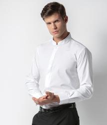 Kustom Kit Long Sleeve Mandarin Collar Shirt (KK161)