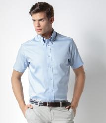 Kustom Kit Short Sleeve Tailored Premium Oxford Shirt (KK187)