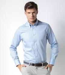Kustom Kit Long Sleeve Tailored Premium Oxford Shirt (KK188)