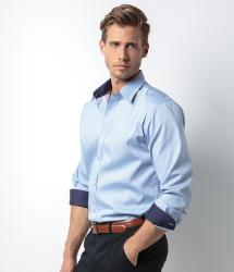 Kustom Kit Contrast Premium Oxford Shirt (KK189)