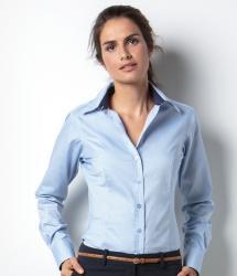 Kustom Kit Contrast Premium Oxford Blouse (KK789)