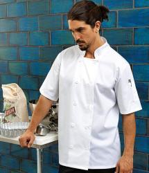 Premier Short Sleeve Chef's Jacket (PR656)