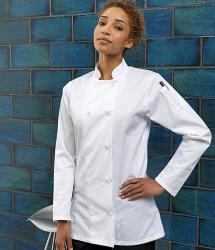 Premier Womens Long Sleeve Chef's Jacket (PR671)