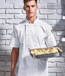 Premier Chefs Coolchecker Short Sleeve Jacket (PR902)