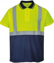 Portwest Hi-vis Two Tone Polo Shirt (PW109)