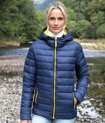 Result Urban Women's Snow Bird Hooded Jacket (R194F)