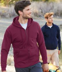 Fruit of the Loom Classic Hooded Sweatshirt Jacket (SS222)