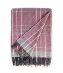 Touch of Cashmere Blanket - Portland Pink and Grey