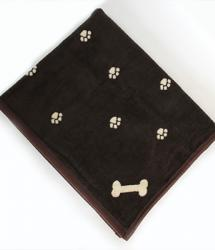 Dog Blanket Brown