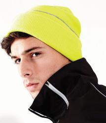 Enhanced-viz knitted hat (BC042)