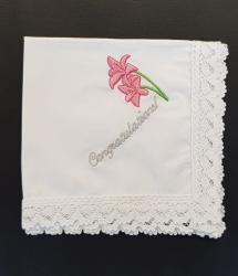 Cotton Handkerchief - Congratulations