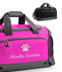 Embroidered Dog Grooming Bag